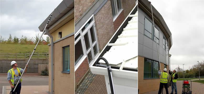 Commercial Gutter Cleaning - PWC UK